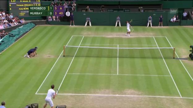 Video «Murray - Verdasco («sportaktuell»)» abspielen