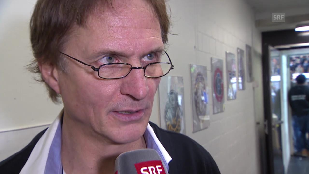 Eishockey: Spengler Cup, Interview mit Arno Del Curto