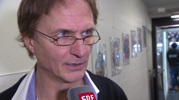 Video «Eishockey: Spengler Cup, Interview mit Arno Del Curto» abspielen