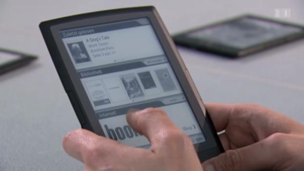 Video «E-Book-Reader im Test: Die Bestseller für digitale Bücher» abspielen