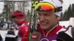Video «Sotschi: Langlauf, Sprints, Interview mit Jöri Kindschi» abspielen