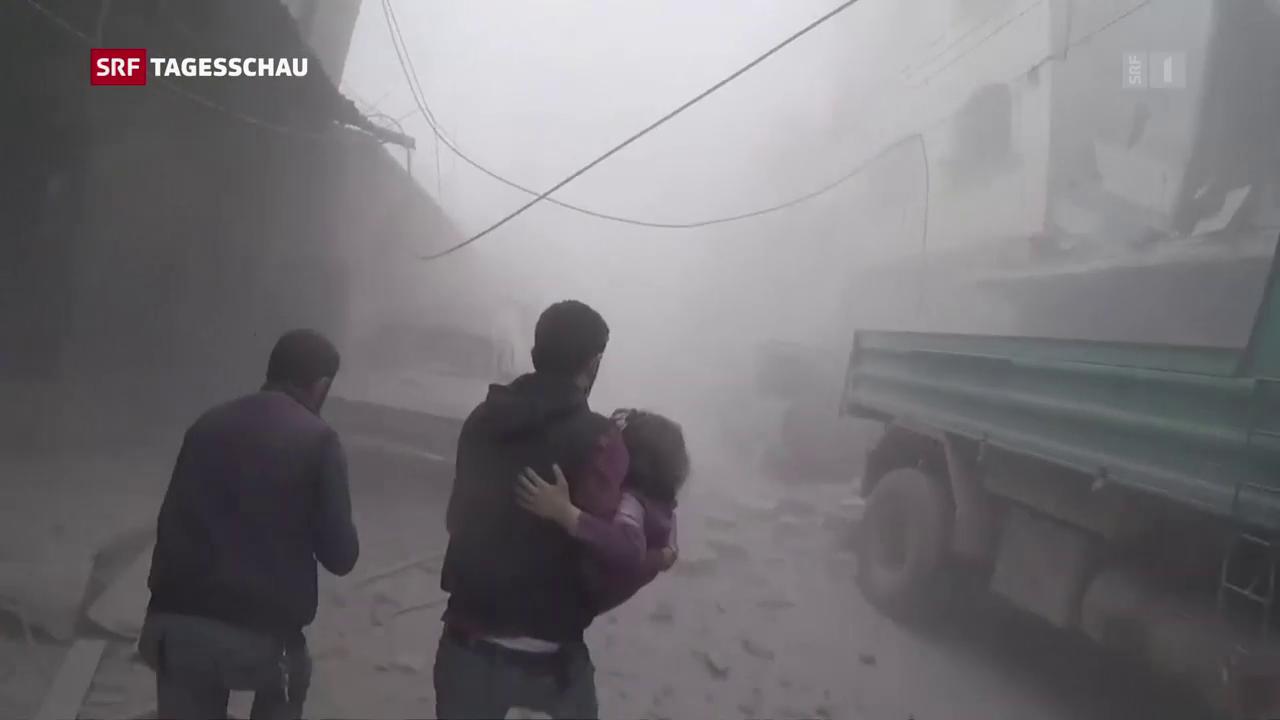 Chemiewaffen in Syrien: OPCW nimmt Untersuchung auf