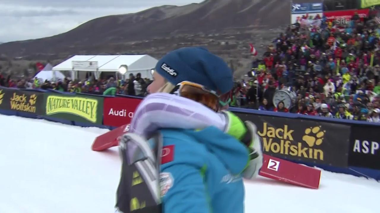 Ski Alpin: Slalom Aspen, die Entscheidung
