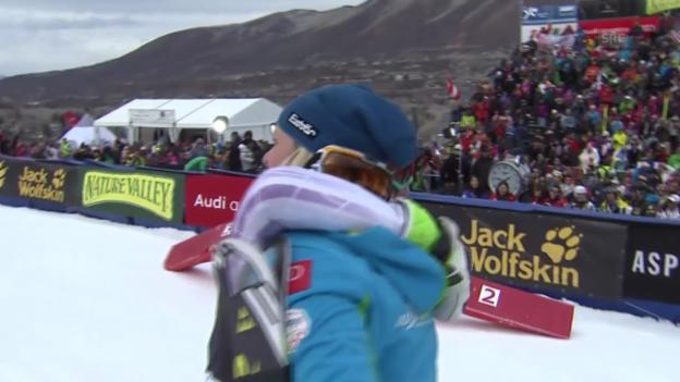 Video «Ski Alpin: Slalom Aspen, die Entscheidung» abspielen