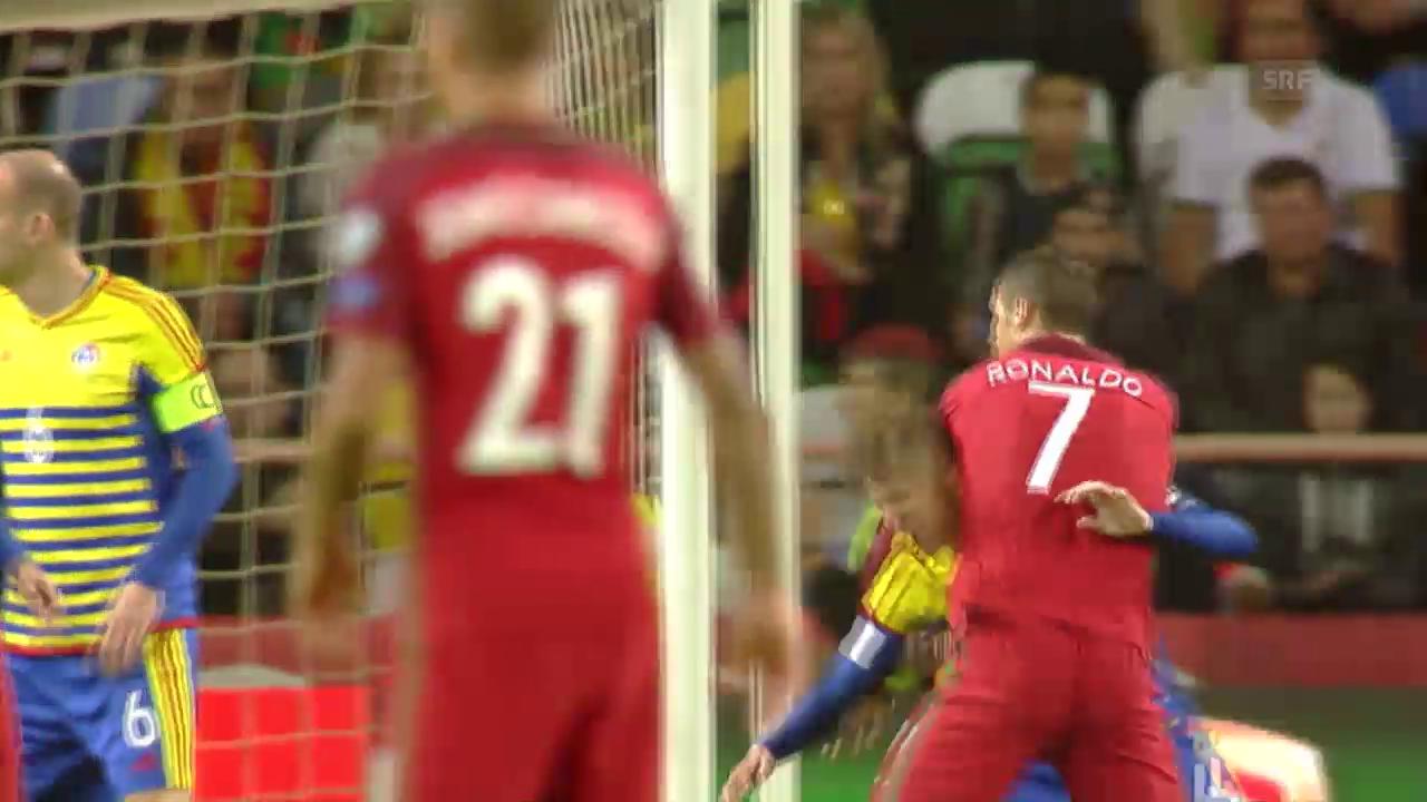 Ronaldo nach «Ringkampf» doch noch mit dem 1:0