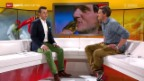Video «Studiogast: Mike Schmid, Skicross-Olympiasieger 2010 – Teil 1» abspielen