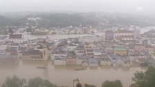 Video «Europaweites Hochwasser im Fruehling 2013» abspielen