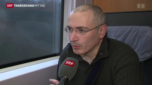 Video «Haftbefehl gegen Chodorkowski» abspielen