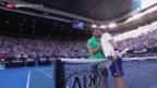 Video «Djokovic muss im Achtelfinal beissen» abspielen