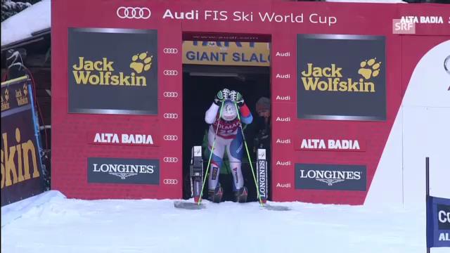 Ski alpin: 1. Lauf von Carlo Janka in Alta Badia