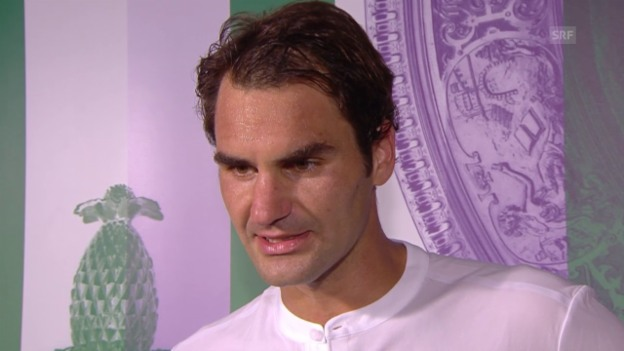 Video «Tennis: Wimbledon, Roger Federer im Interview» abspielen