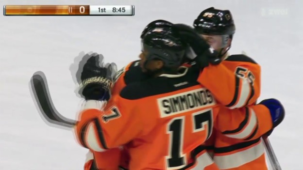 Video «Eishockey: Siege für die Schweizer in der NHL» abspielen