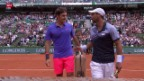 Video «Tennis: French Open, Federer-Falla» abspielen