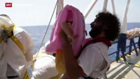 Video «Zu wenige Rettungsboote» abspielen
