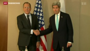 Video «Ukraine-Treffen in Genf » abspielen