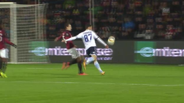 Video «Sparta Prag und Lazio Rom trennen sich unentschieden» abspielen