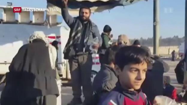 Video «Evakuierung aus Aleppo» abspielen