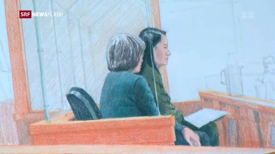 Aus dem Archiv: Kanada bestätigt Vorwürfe gegen Meng Wanzhou