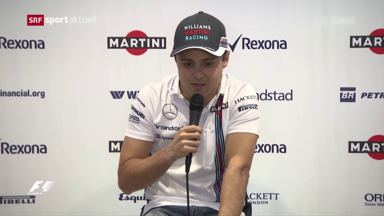F1-Pilot Massa beendet Ende Saison seine Karriere