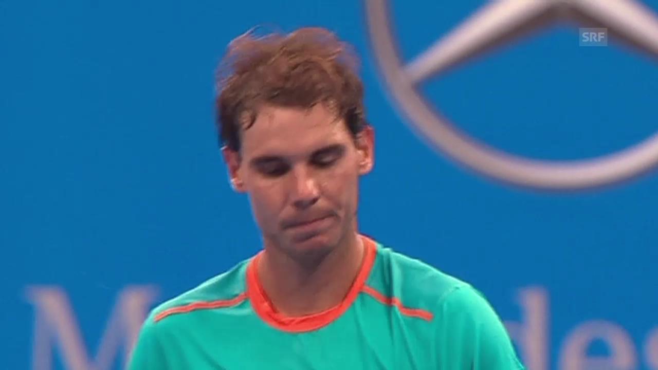 Tennis: ATP Peking, Nadal-Gojowczyk, Matchball