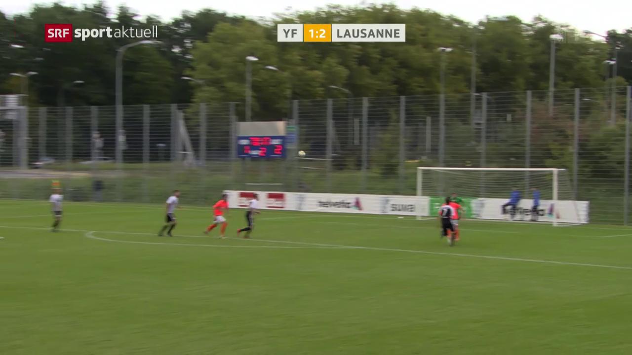Fussball: Cup, YF Juventus - Lausanne