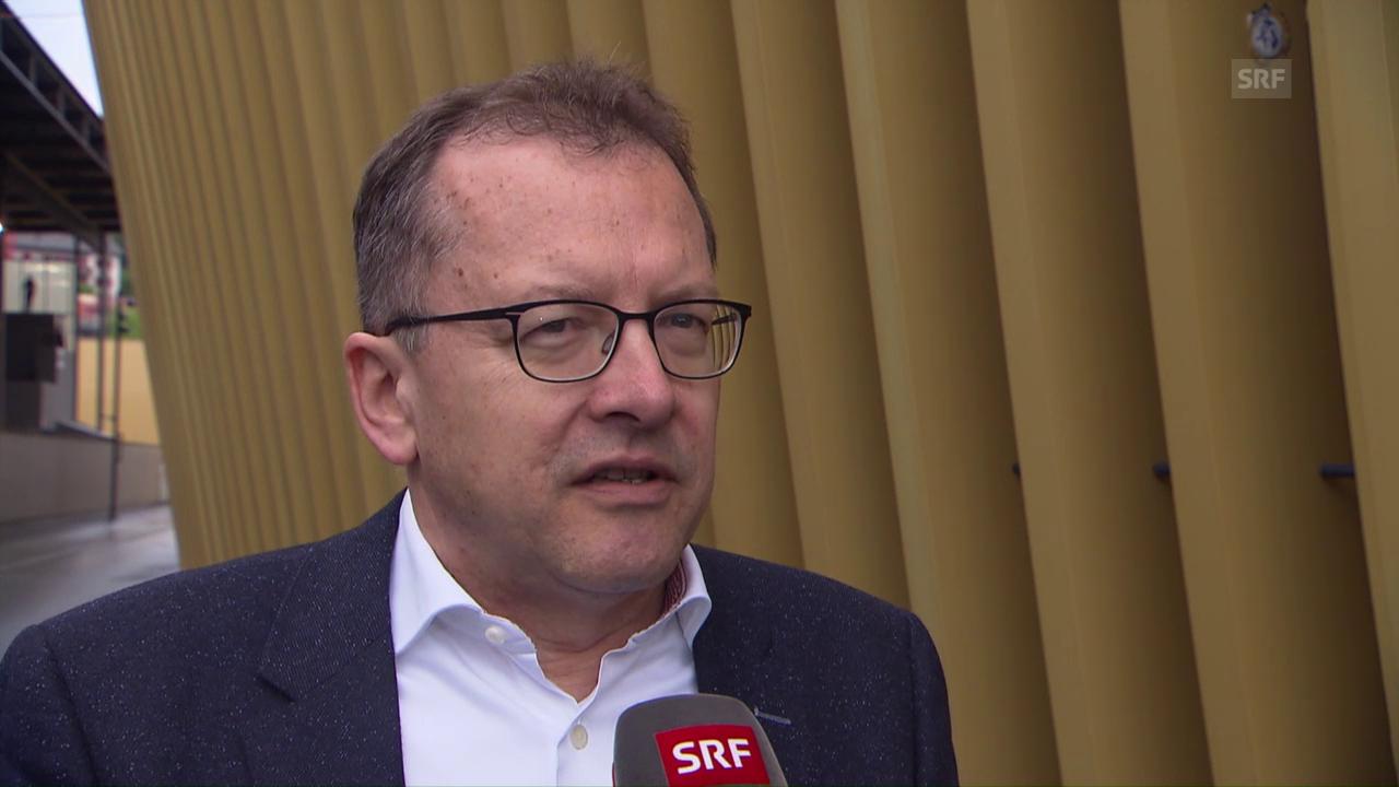 SFV-Mediensprecher Von Ah zum Kosovo-Entscheid