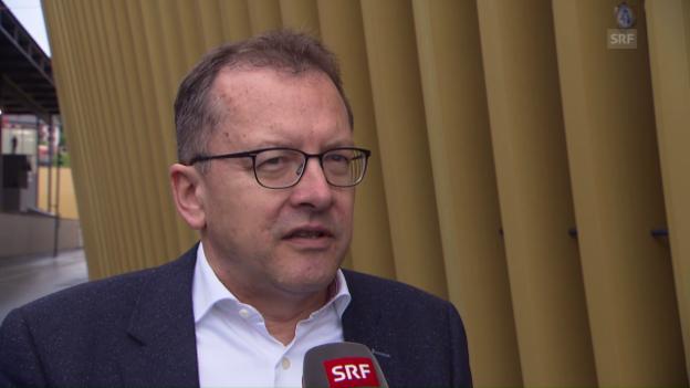 Video «SFV-Mediensprecher Von Ah zum Kosovo-Entscheid» abspielen