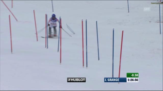 WM-Slalom Männer 2011: Jean-Baptiste Grange