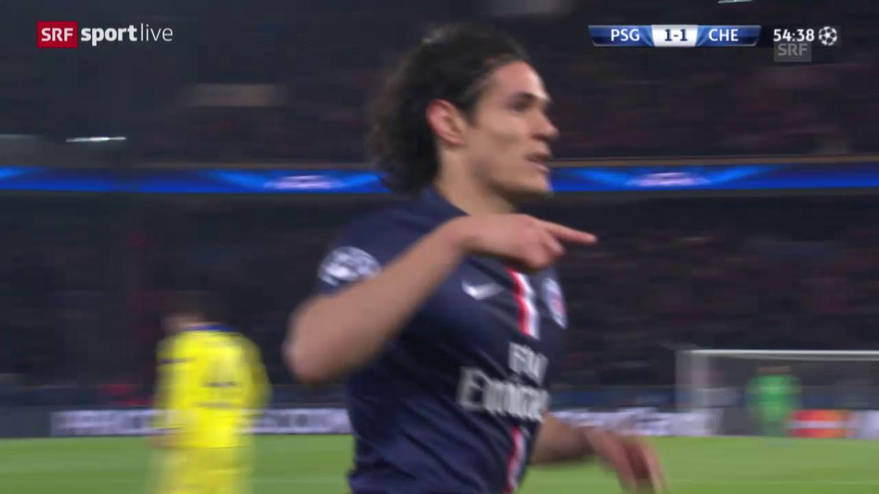 Fussball: Champions League Achtelfinal, Live-Highlights PSG - Chelsea