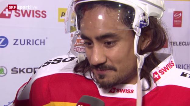 Video «Eishockey: Interview Eric Blum» abspielen