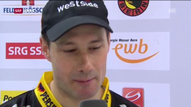 Video «Interview mit SCB-Goalie Bührer» abspielen