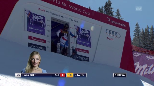 Ski: SL Lenzerheide 2. Lauf Gut