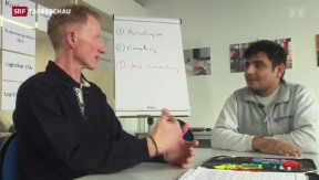 Video «Bund und Wirtschaft gemeinsam gegen Jugendarbeitslosigkeit» abspielen