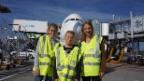 Video «Einmal selber mit einem Flugzeug fliegen» abspielen