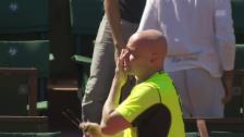 Link öffnet eine Lightbox. Video Djokovic mit Agassi, Nadal mit Selbstvertrauen abspielen