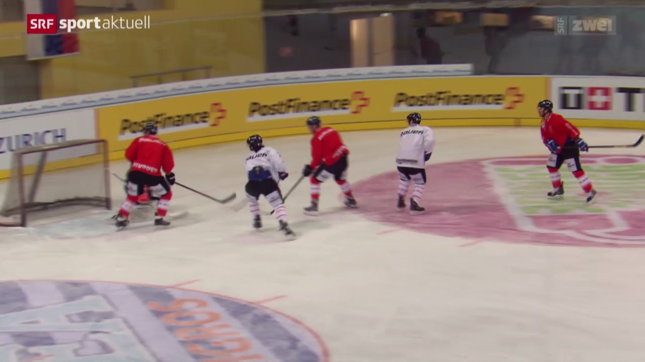 Eishockey: Die Nati vor der Arosa Challenge