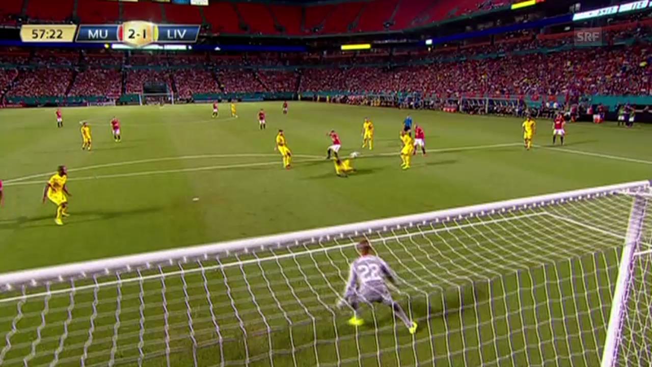 Fussball: Testspiel Manchester United - FC Liverpool