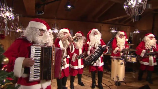 Video «The Band of Santa Claus» abspielen