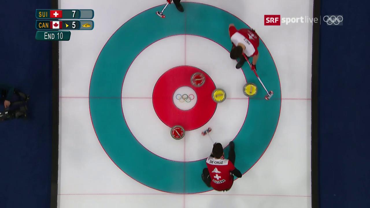 Benoit Schwarz sichert der Schweiz Bronze