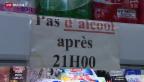 Video «Nächtliches Alkohol-Verkaufsverbot» abspielen