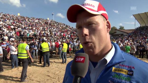 Video «Kilchberger Schwinget: Interview mit Matthias Sempach» abspielen