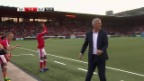 Video «Live-Highlights Schweiz - Weissrussland» abspielen