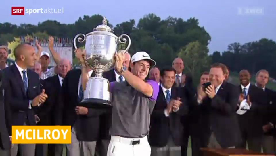 Golf: Rory McIlroy gewinnt PGA Championship