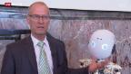 Video «Robotik-Guru Rolf Pfeifer verlässt Zürich» abspielen