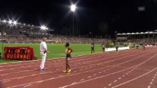 Video «Fehlstart oder nicht? Verwirrung im 100-m-Frauenrennen» abspielen