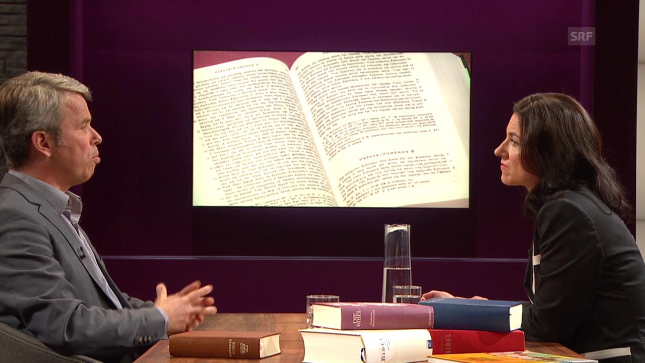 Die Bibel: Stoff von gestern, Diskussionsstoff für heute