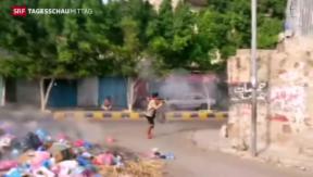 Video «Saudi- Arabien fliegt Luftangriffe» abspielen