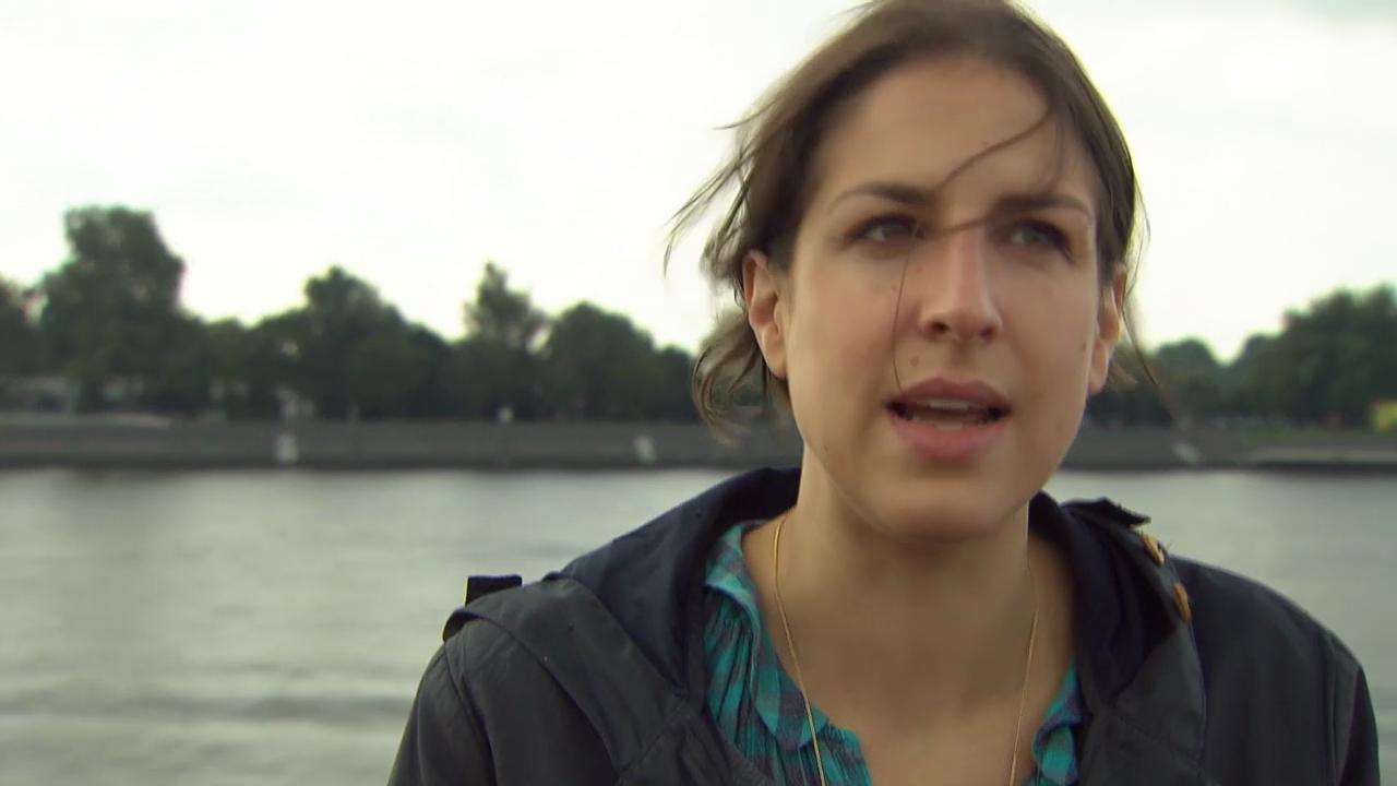Laura de Weck zur Sprache, die uns Orientierung geben soll