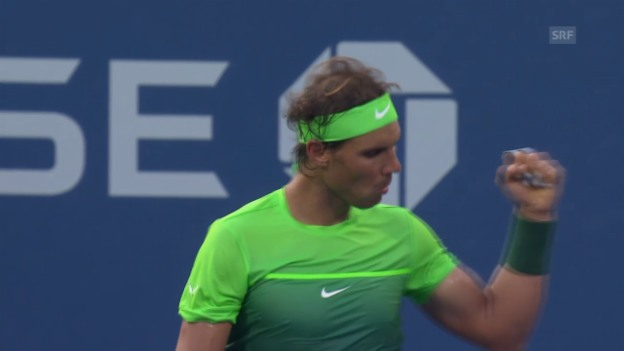 Video «Tennis: US Open, 2. Runde, Nadal-Schwartzman» abspielen