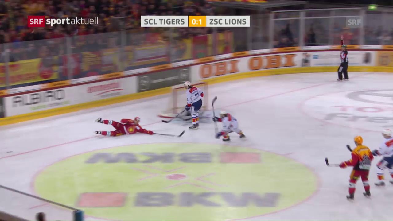 SCL Tigers - ZSC Lions: Das 1. Drittel